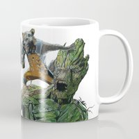 guardians of the galaxy Mugs featuring Guardians by theMAINsketch