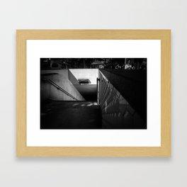 Powell & Market Bart. Framed Art Print
