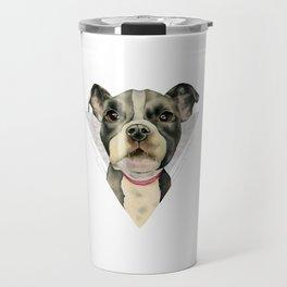 Puppy Eyes 2 Travel Mug