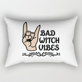 Bad Witch Costume Rectangular Pillow