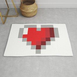 8bit Heart Rug