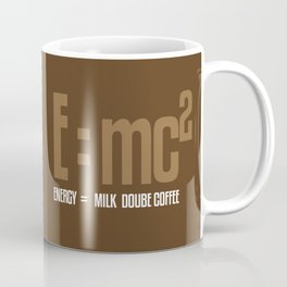 e=mc2, energy, milk, coffee Coffee Mug