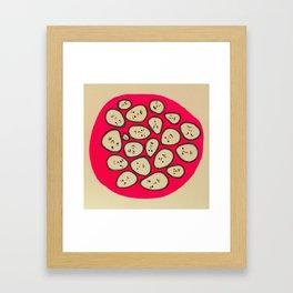 Circle of emotions Framed Art Print
