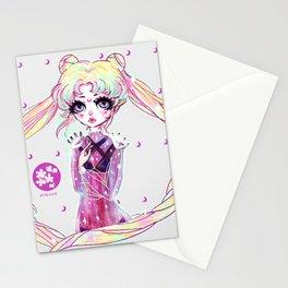 moon power ❤ usagi Stationery Cards