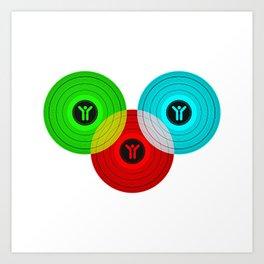 Vinyls Art Print