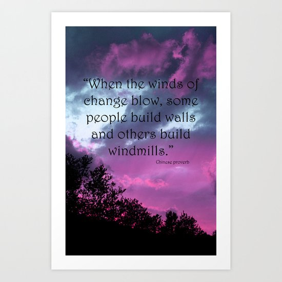 Wind of Change Art Print