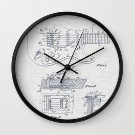 Electric Guitar 2 Wall Clock