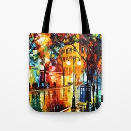 Tardis Always Stay On The Street Tote Bag