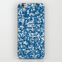Snorkel Blue Pixels iPhone Skin