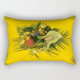 Tropical Bouquet Rectangular Pillow