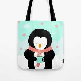 Lovely Penguin Tote Bag