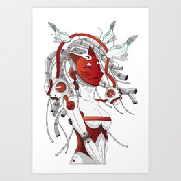 Stravaganza Art Print