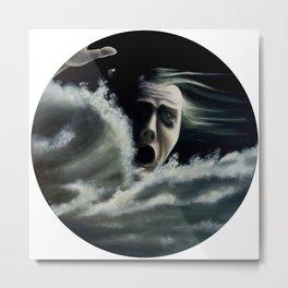 Man overboard Metal Print