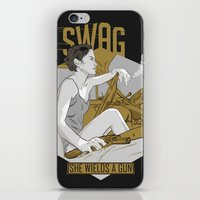 swag iPhone & iPod Skins featuring SWAG by RJ Artworks