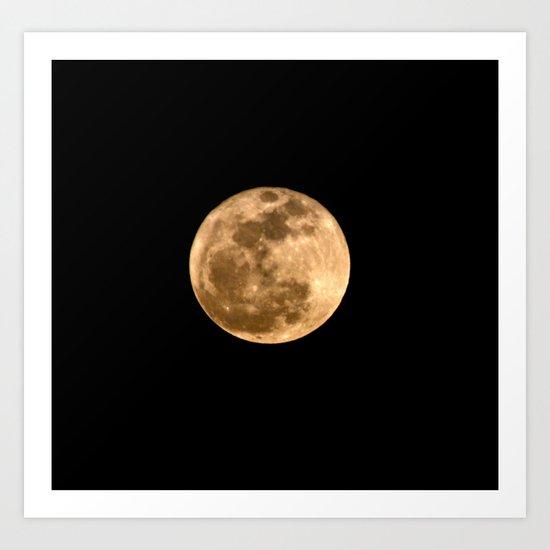 La Luna 3 Art Print