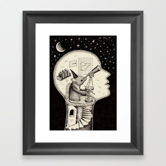 'Observatory' Framed Art Print