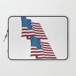 US Flag Laptop Sleeve