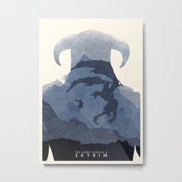 Skyrim (II) Metal Print