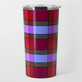 Vintage Checkered pattern Travel Mug