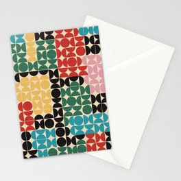 OCD is the new black - cozy, decor, retro, drawing, fashion, slowlife, design, painting, hygge, art, Stationery Cards