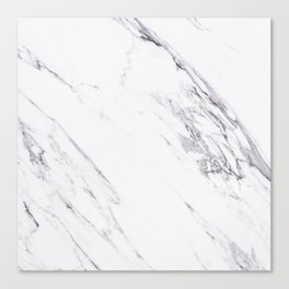 Marble - Classic Real Marble Canvas Print
