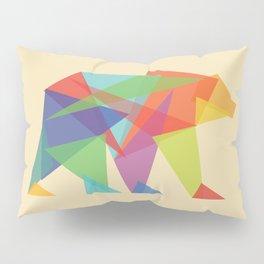 Fractal Geometric bear Pillow Sham