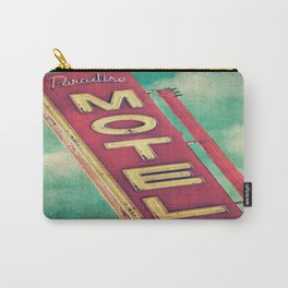 Paradise Motel Sign Carry-All Pouch