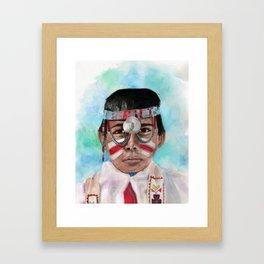 Oh, Boy Framed Art Print