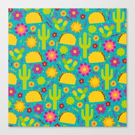 Taco Garden Canvas Print