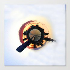 Planet Chicago Canvas Print