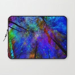 Colorful forest Laptop Sleeve