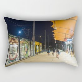 Light Rail Station Rectangular Pillow