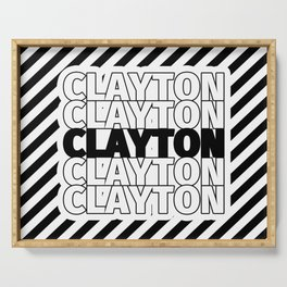 Clayton USA CITY Funny Gifts Serving Tray