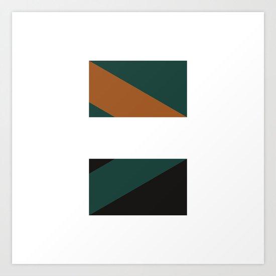 #244 Telepathy – Geometry Daily Art Print