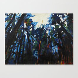 Woven Light Canvas Print