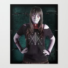Ghoulish Glamour - The Necktie Canvas Print