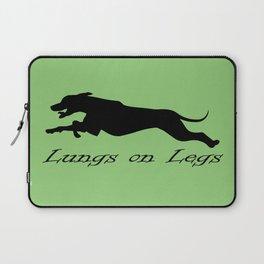 Lungs on Legs Laptop Sleeve