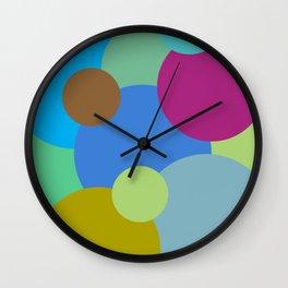 Circles of life Wall Clock