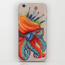 hipsterpuss iPhone Skin