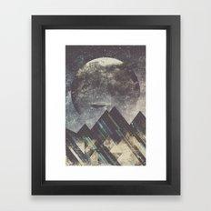 Sweet dreams mountain Framed Art Print
