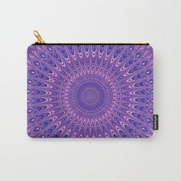 Purple mandala 2 Carry-All Pouch