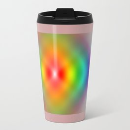 Rainbow Spiral Travel Mug