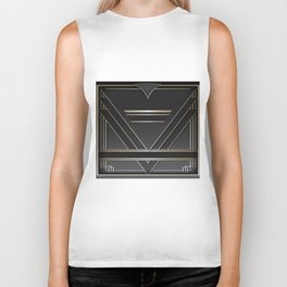 Art deco design IV Biker Tank