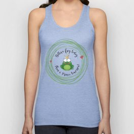 Funny Frog || Better a frog today... || Hen Party || Engagement || Funny gift Unisex Tank Top