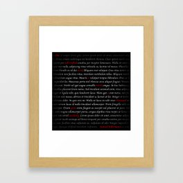 -Samuel Killermann Framed Art Print