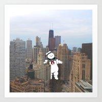 Chicago Invasion Art Print