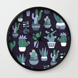 Go sit on a cactus! Wall Clock