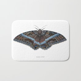 Black Witch Moth Bath Mat