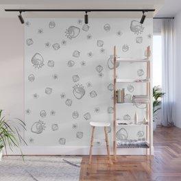 Strawberry Blossom Wall Mural