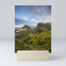 Sunrise Over the Quiraing II Mini Art Print